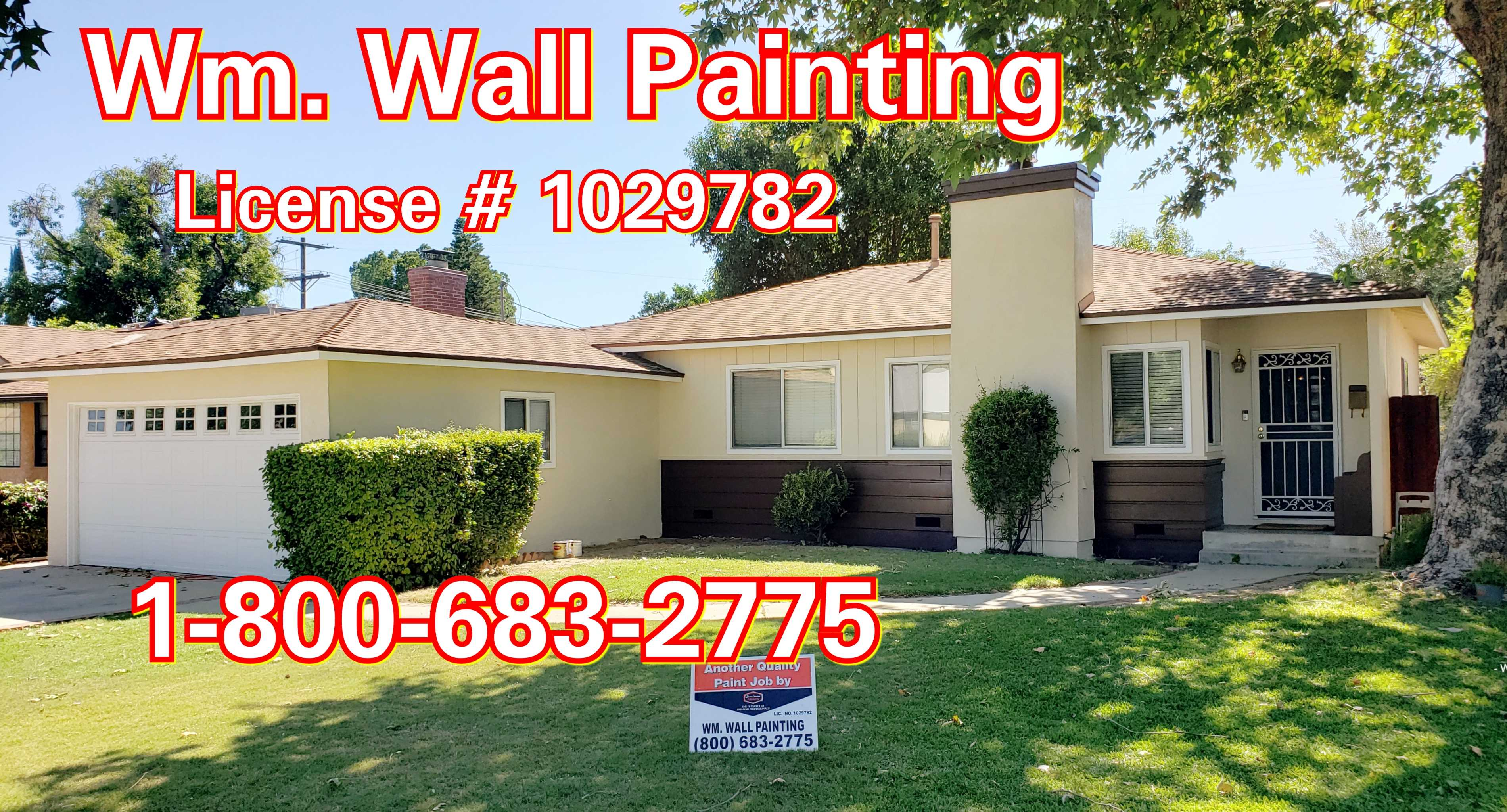 Wm Wall Painting Sherman Oaks Ca 213 925 7191
